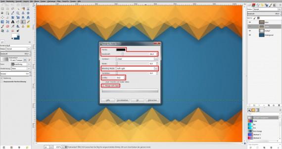 Freitagstutorial: Muster-Visitenkarte in GIMP (13)