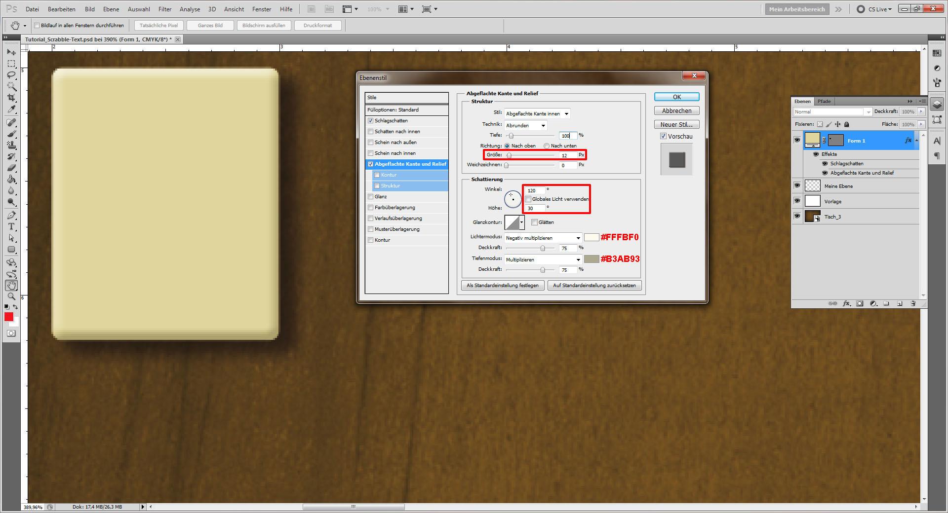 tutorial scrabble text in photoshop erstellen saxoprint blog. Black Bedroom Furniture Sets. Home Design Ideas