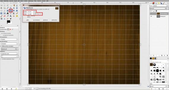 Freitagstutorial: Scrabble-Texteffekt in GIMP 2.8 (3)