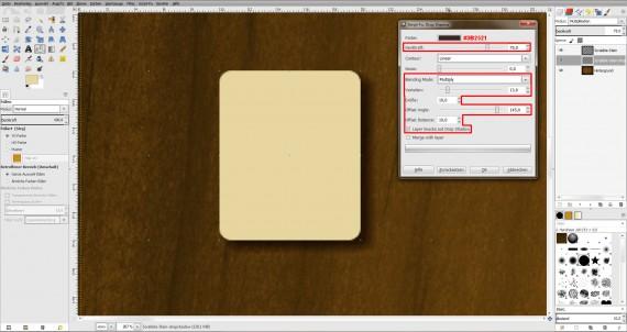 Freitagstutorial: Scrabble-Texteffekt in GIMP 2.8 (8)