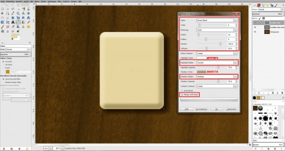 Freitagstutorial: Scrabble-Texteffekt in GIMP 2.8 (9)