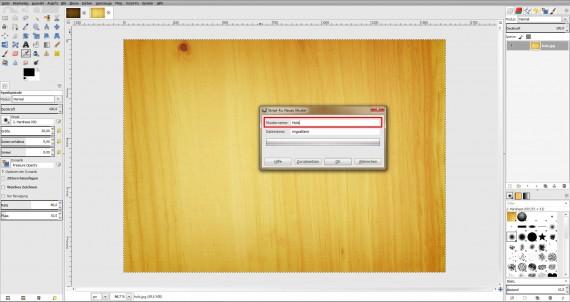 Freitagstutorial: Scrabble-Texteffekt in GIMP 2.8 (11)