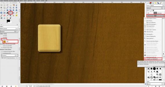 Freitagstutorial: Scrabble-Texteffekt in GIMP 2.8 (12)