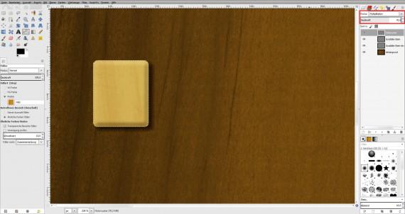 Freitagstutorial: Scrabble-Texteffekt in GIMP 2.8 (13)