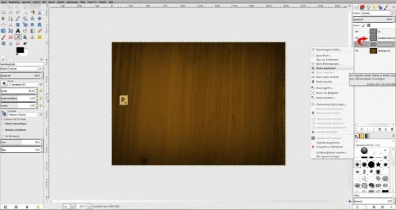 Freitagstutorial: Scrabble-Texteffekt in GIMP 2.8 (18)