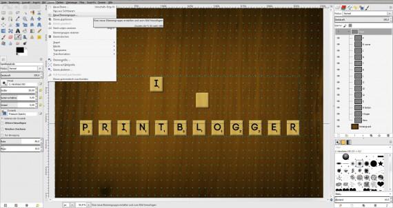 Freitagstutorial: Scrabble-Texteffekt in GIMP 2.8 (20)