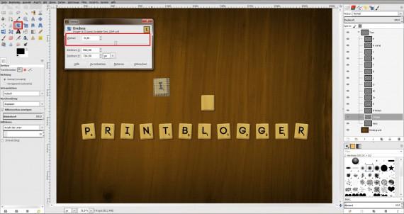 Freitagstutorial: Scrabble-Texteffekt in GIMP 2.8 (21)