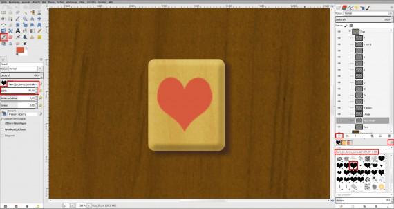 Freitagstutorial: Scrabble-Texteffekt in GIMP 2.8 (23)