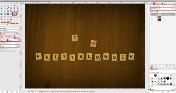 Freitagstutorial: Scrabble-Texteffekt in GIMP 2.8 (26)