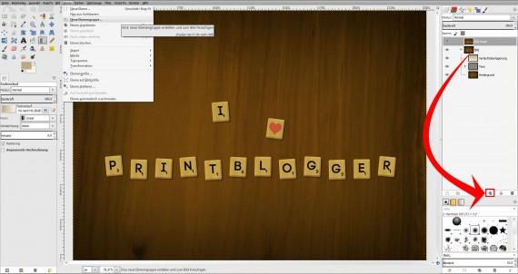 Freitagstutorial: Scrabble-Texteffekt in GIMP 2.8 (27)