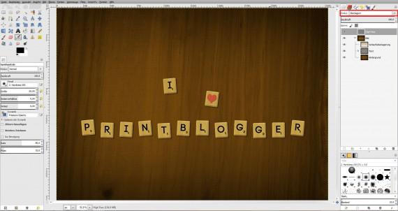 Freitagstutorial: Scrabble-Texteffekt in GIMP 2.8 (29)