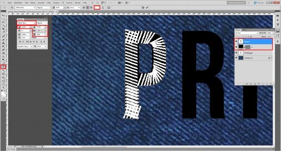 Freitagstutorial: Jeans Stick-Texteffekt für Photoshop (5)