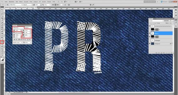 Freitagstutorial: Jeans Stick-Texteffekt für Photoshop (6)