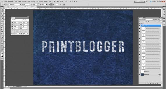 Freitagstutorial: Jeans Stick-Texteffekt für Photoshop (7)