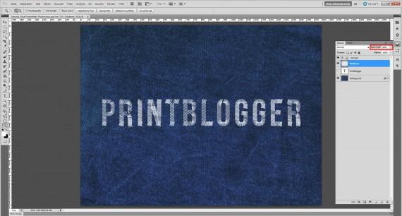 Freitagstutorial: Jeans Stick-Texteffekt für Photoshop (8)