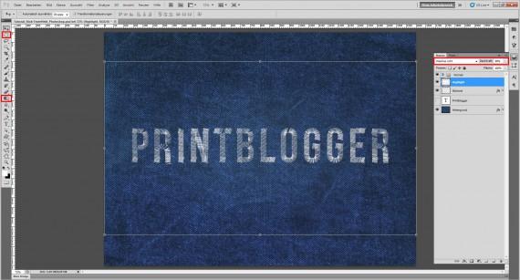 Freitagstutorial: Jeans Stick-Texteffekt für Photoshop (10)