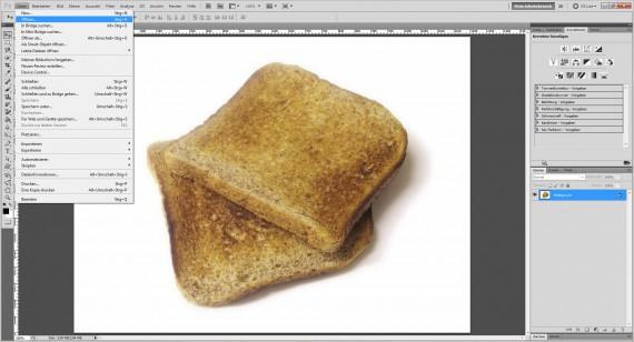 Freitagstutorial: Toast-Branding mit Adobe Photoshop (1)