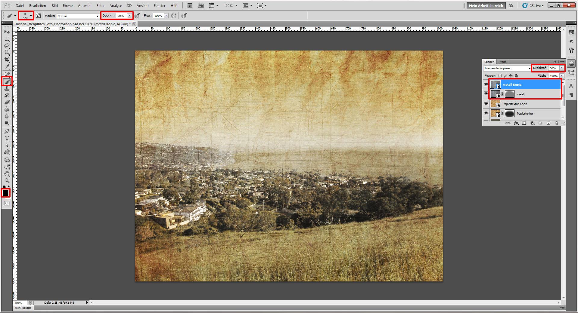 Tutorial Foto Altern Lassen Im Photoshop Saxoprint Blog