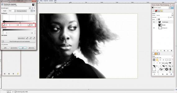 Freitagstutorial: Porträt mit Wasserfarbenpinsel in GIMP (4)