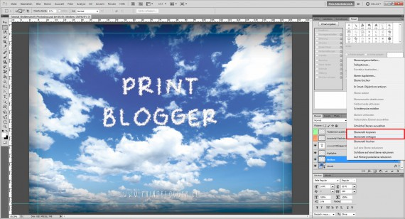 Freitagstutorial: Wolkenschrift in Adobe Photoshop (11)