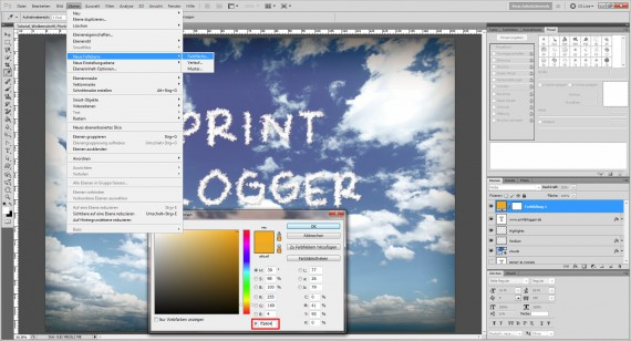 Freitagstutorial: Wolkenschrift in Adobe Photoshop (12)
