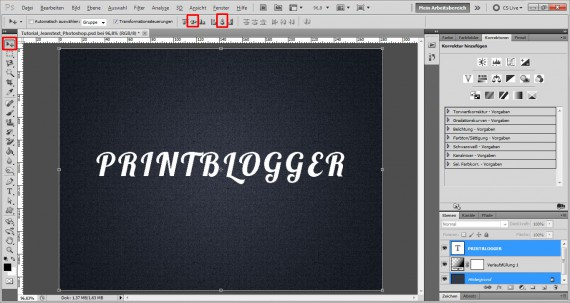 Freitagstutorial: Jeans-Schrift in Adobe Photoshop (5)