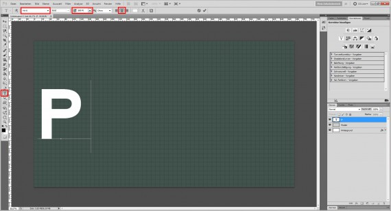Freitagstutorial: Knittertext in Adobe Photoshop (3)