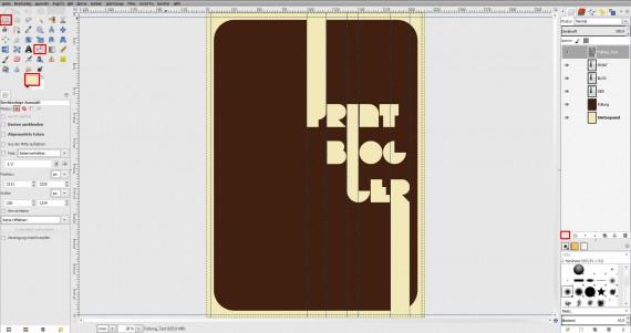 Freitagstutorial: Vintage-Poster in GIMP gestalten (5)