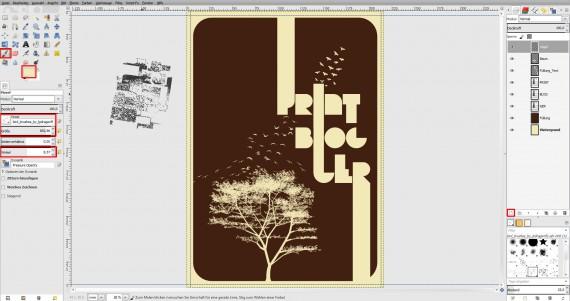 Freitagstutorial: Vintage-Poster in GIMP gestalten (8)