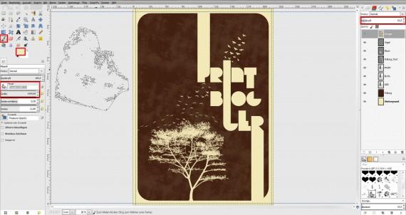Freitagstutorial: Vintage-Poster in GIMP gestalten (9)