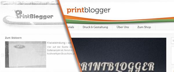 Der neue Printblogger auf Saxoprint.de