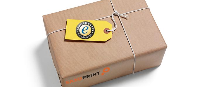 SAXOPRINT – Rundum sicher mit der Trusted Shops Garantie!