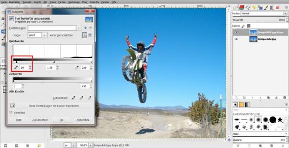 Vintage-Effekt in GIMP (11)
