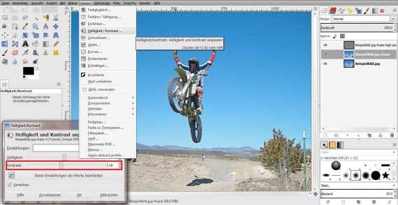 Vintage-Effekt in GIMP (9)