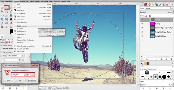 Vintage-Effekt in GIMP (4)
