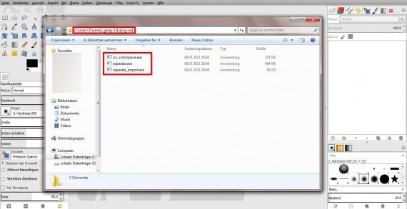 QuickTipp: In GIMP 2.8 RGB zu CMYK umwandeln (1)