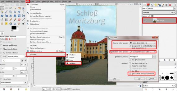 QuickTipp: In GIMP 2.8 RGB zu CMYK umwandeln (6)