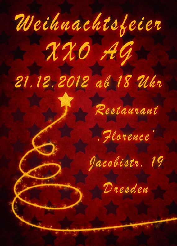 Tutorial: Flyer für die Weihnachtsfeier in Photoshop