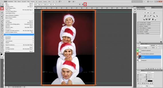 Photoshop Foto-Grußkarte gestalten Step (1)