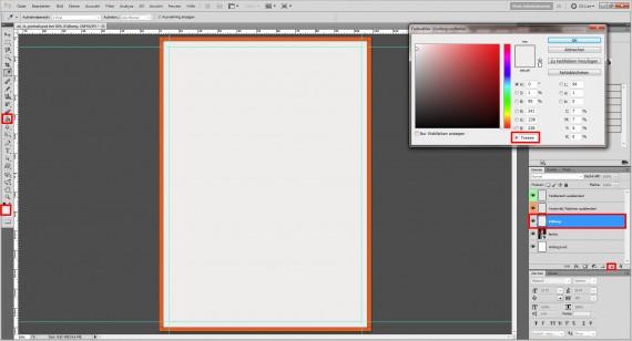 Photoshop Foto-Grußkarte gestalten Step (2)