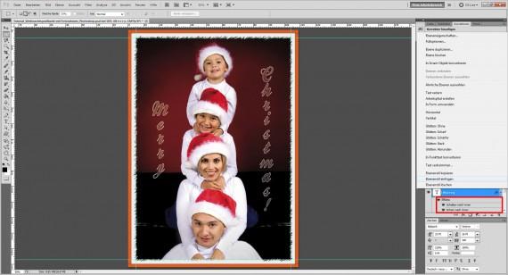 Photoshop Foto-Grußkarte gestalten Step (9)
