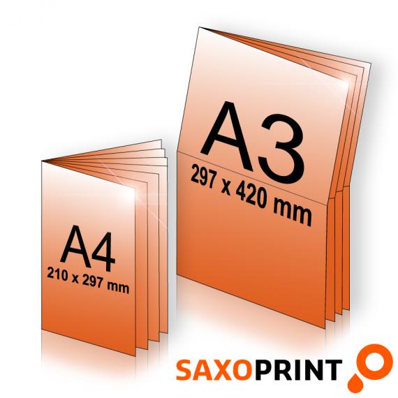 Werbeprospekte / Zeitungsbeileger bei Saxoprint