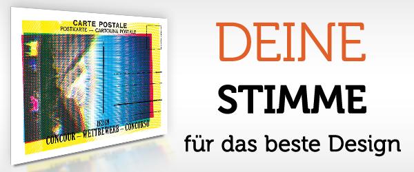 Design-Contest Schweiz – Voting + Gewinner!