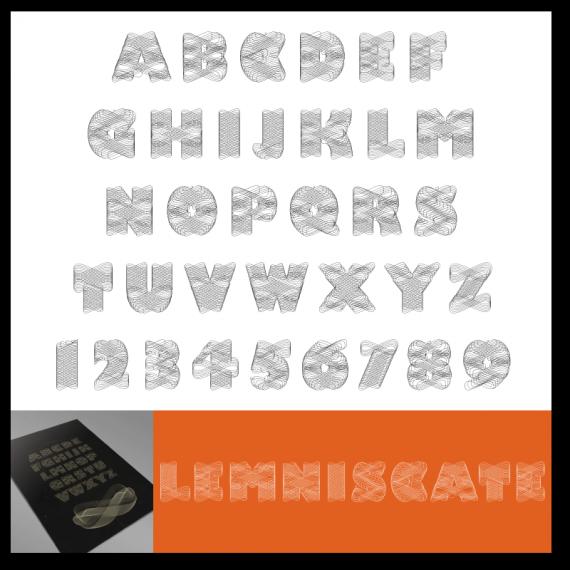 Lemniscate Font