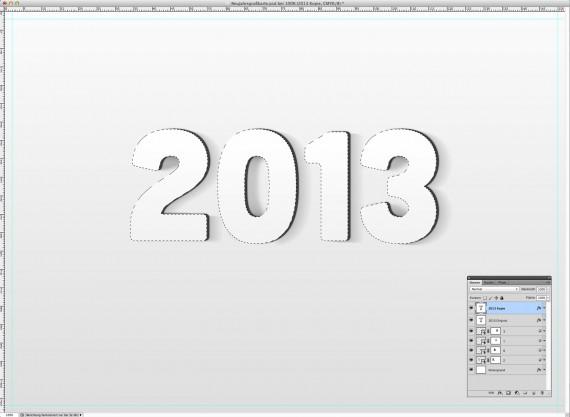 Postkarte Neujahrsgrüße (7a)