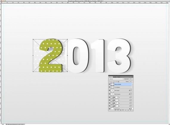 Postkarte Neujahrsgrüße (8b)