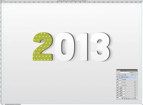 Postkarte Neujahrsgrüße (8d)
