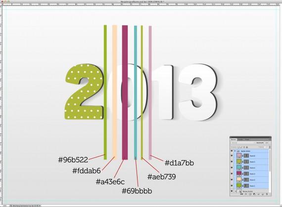 Postkarte Neujahrsgrüße (9)