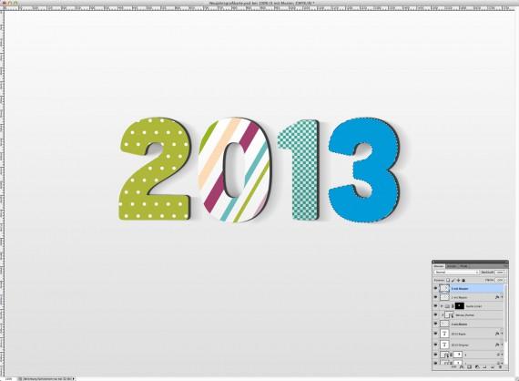 Postkarte Neujahrsgrüße (14)