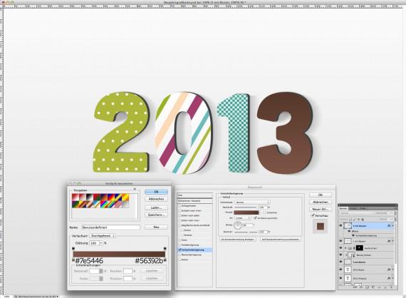 Postkarte Neujahrsgrüße (15)